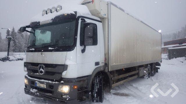 Mercedes 2541 L 6x2 Box (chillers + tail lift) - 10