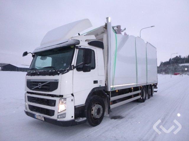 Volvo FM 6x2 Box (chillers + tail lift) - 12