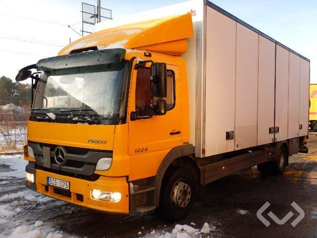 Mercedes 1224L 4x2 Skåp (öppningsbar sida+bg-lyft) - 11