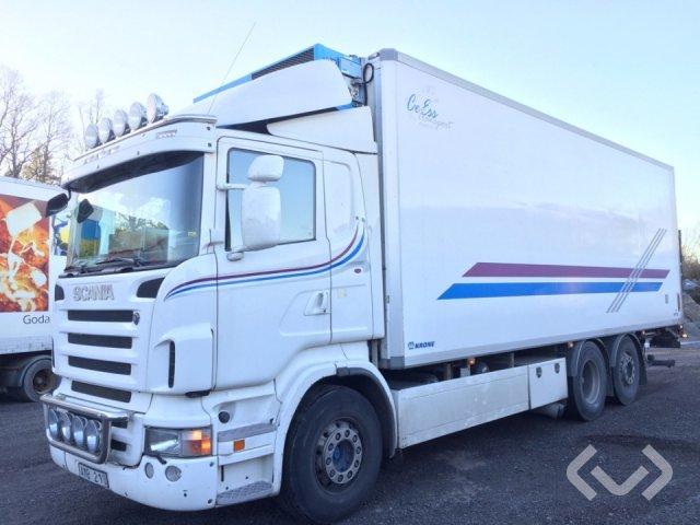 Scania R480LBMLB 6x2*4 Skåp (kylaggregat+bg-lyft) - 09