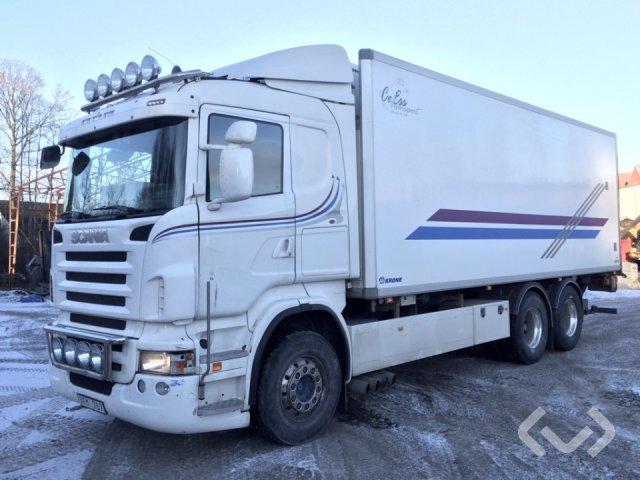 Scania R480LBHSA 6x2 Skåp (kylaggregat+bg-lyft) - 10