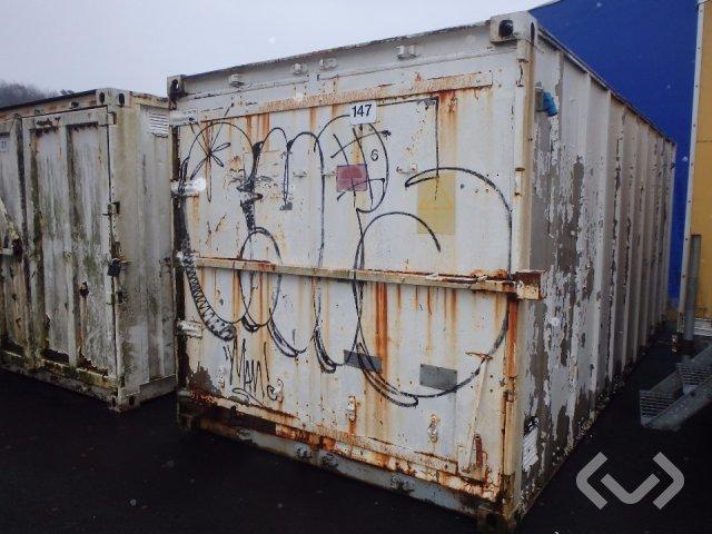 20 fots container - okänd