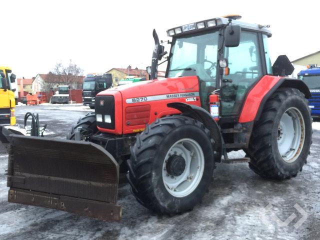 Massey Fergusson 6270-4 Traktor med vikplog - 99