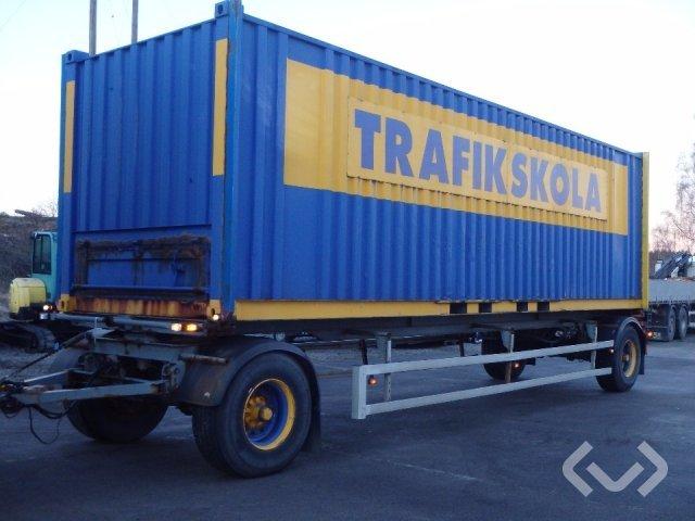 Schmitz WF 20 2-axlar Växelflaksläp (container) - 88
