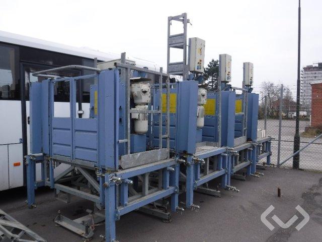 Geda MCP 750/1500 fasadklättrare 4 st