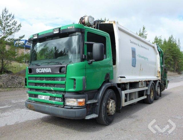 Scania P94DBN 4LA260 6x2 Sopbil (baklastare) - 00