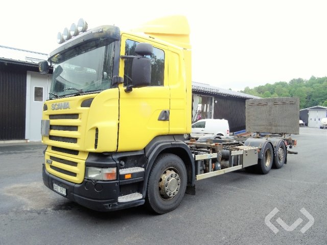 Scania R380LB HNB (Export only) (Rep. objekt) 6x2*4 Växelflak (bg-lyft) - 08