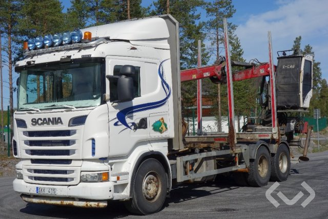 Scania R560LB HNA 6x4 Timmerbil - 13