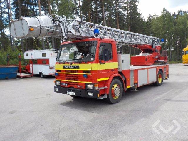 Scania G82MLL150KKL 4x2 Brandfordon (stegbil) - 84