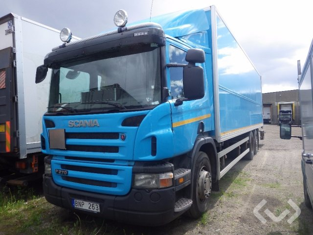 Scania P270LB MNB (Rep. Objekt) (Export only) 6x2*4 Skåp (bg-lyft) - 09