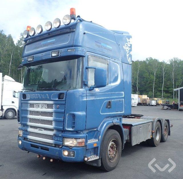 Scania R164LA NA580 6x2 Dragbil - 03