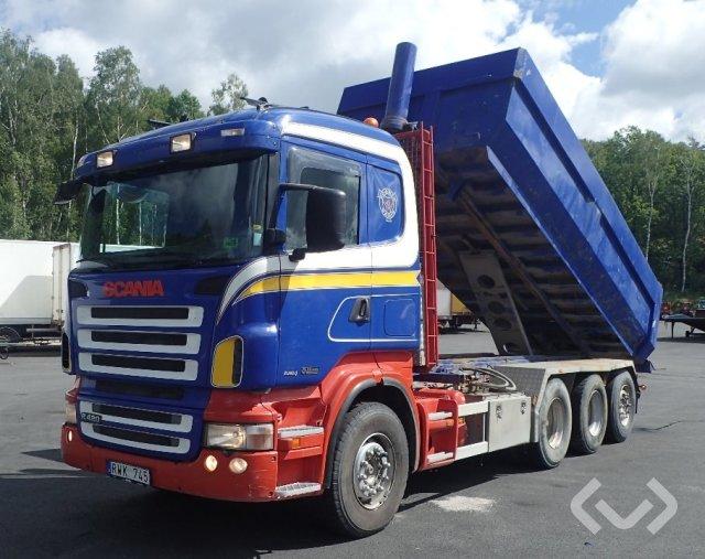 Scania R420LB HHA 8x4*4 Tippbil - 06