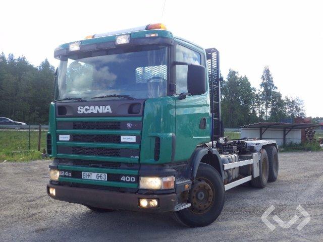 Scania R124GBNA 6x4 Lastväxlare - 96