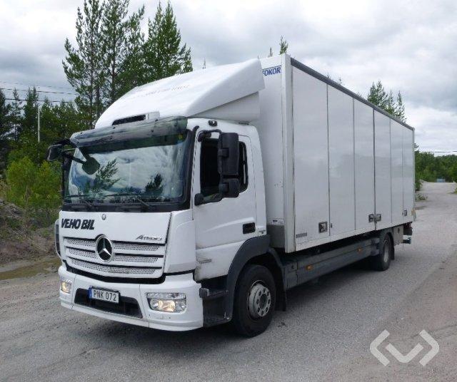 Mercedes 1523 4x2 Skåp (öppningsbar sida+bg-lyft) - 14