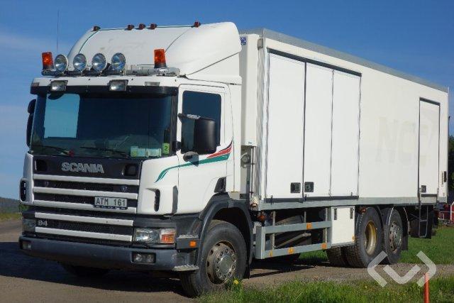 Scania P94DB NB260 6x2*4 Skåp (kylaggregat+bg-lyft) - 98