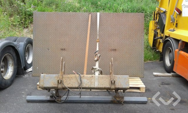 Zepro Bakgavellyft 1500 kg  . - 04