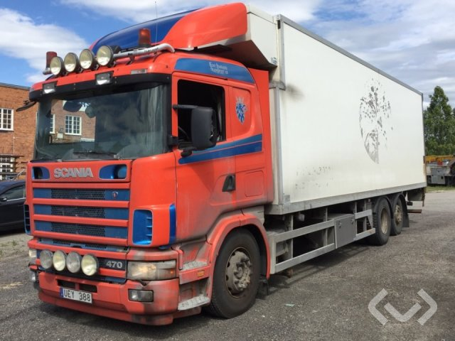 Scania R124LB4NB470 6x2 Skåp (kylaggregat+bg-lyft) - 04