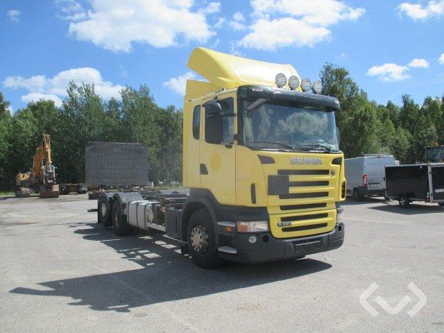 Scania R420LBHNB (Export only) 6x2*4 Växelflak (bg-lyft) - 06
