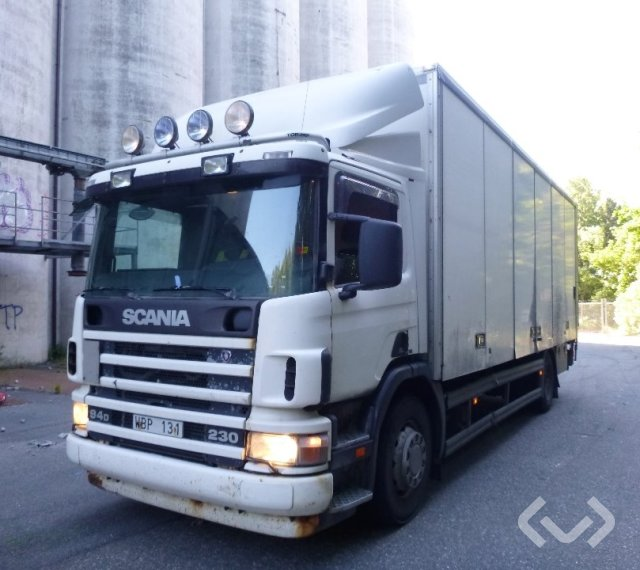 Scania P94DBNB230 4x2 Skåp (öppningsbar sida+bg-lyft) - 05