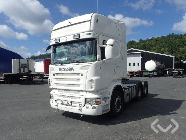 Scania R420 LA MNB 6x2 Dragbil - 08