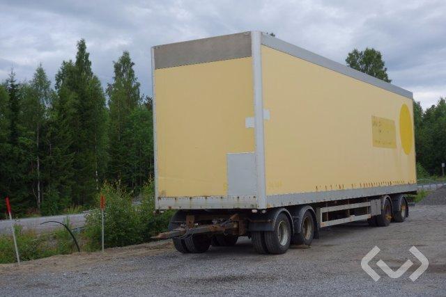 NÄRKO D4YP11L31 (Export only) 4-axlar Släpvagn med dragstång - 01