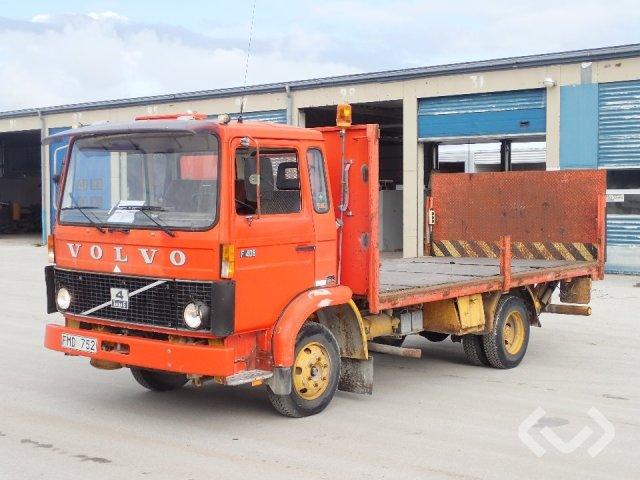 Volvo F 408 (Rep. objekt) 4x2 Flak (bg-lyft) - 82
