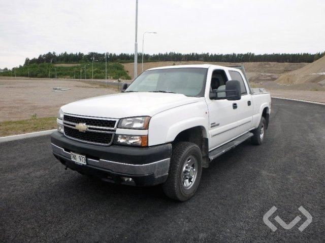 Chevrolet SILVERADO CREW 4x2 Flak-lämmar - 06