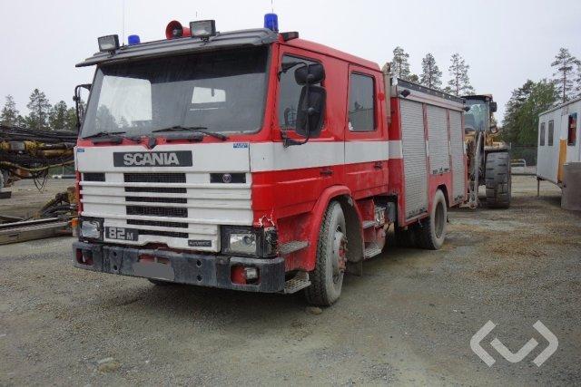 Scania 82M Brandbil 4x2 Brandfordon (släckbil)