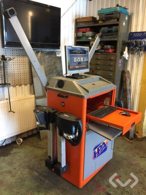 Simpesfaip HPA Bora 217s hjulinställning + verktyg - 00