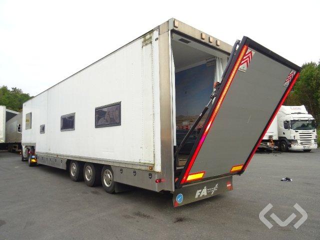 TALSON D27, Special trailer 3-axlar Påhängsvagn - 90