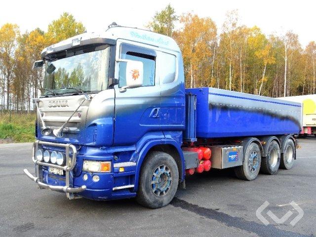 Scania R580 8x2/4 Tippbil - 07