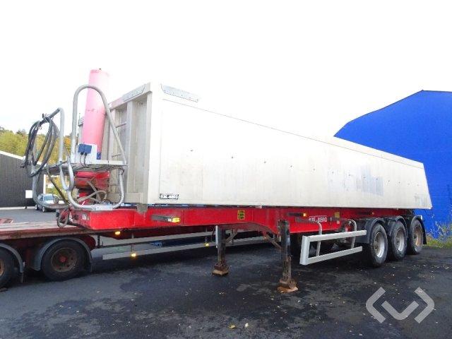 KEL BERG T40B3 3-axlar Släpvagn med dragstång - 07