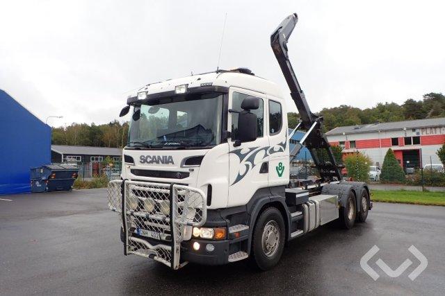 Scania R500LBHNA 6x2*4 Lastväxlare - 11