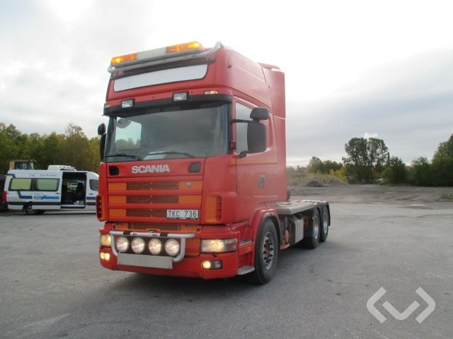 Scania R124 GB NB470 6x4 Dragbil - 03