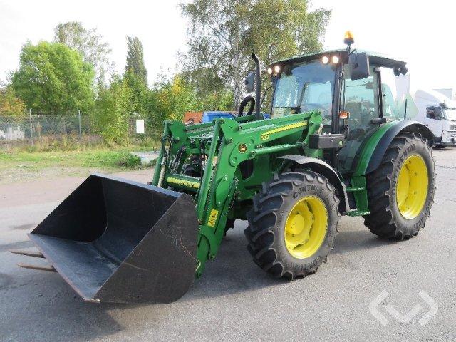 John Deere 5070M Traktor med lastare - 12
