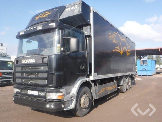 Scania R124GBNB400 6x2 Skåp (kylaggregat+bg-lyft) - 98