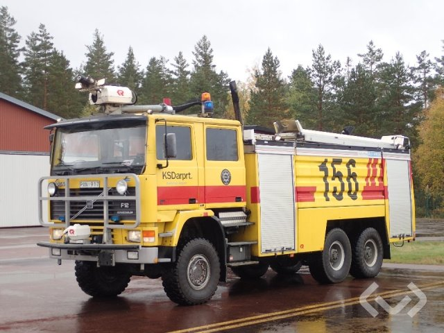 Volvo F12 RB90 6x4 Brandfordon (släckbil) - 92