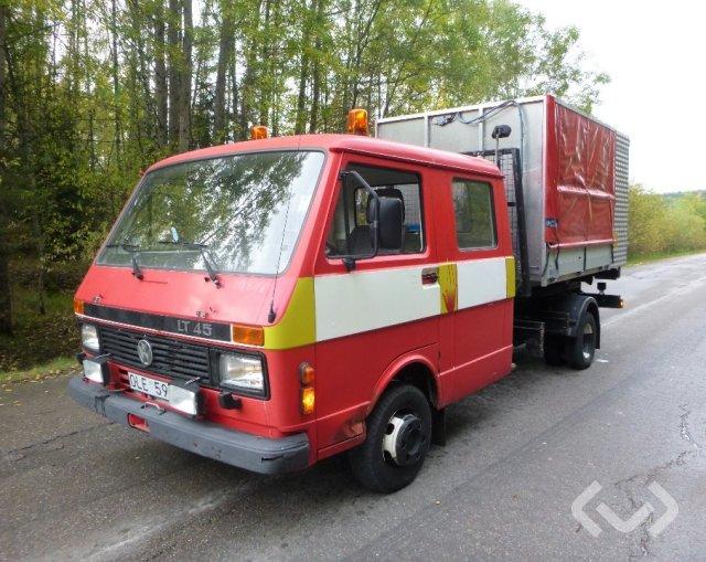 VW LT45TD 295552 4x2 Brandfordon Lastväxlare - 90
