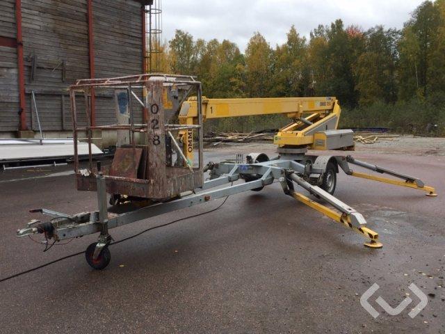 Omme 1250 EZ Bogserad skylift - 04
