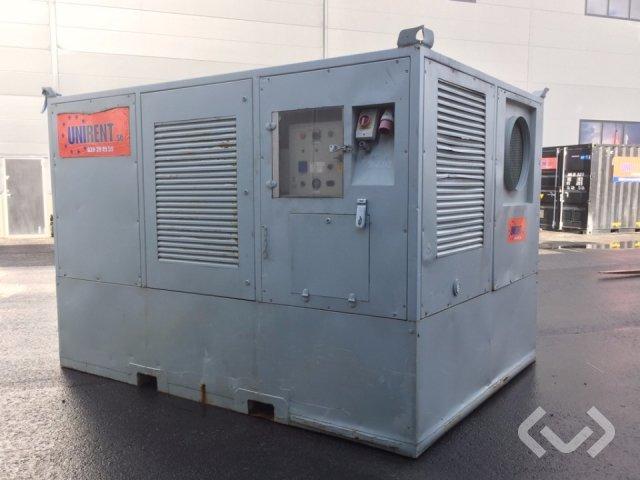 Tiegel THK 380 varmluftspanna 380 kW