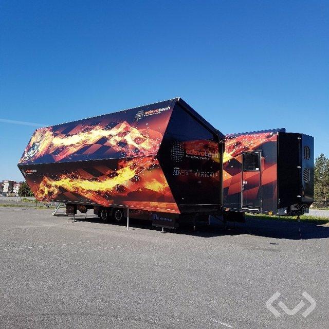 MOT UT-28, Special trailer 2-axlar Special trailer - 06