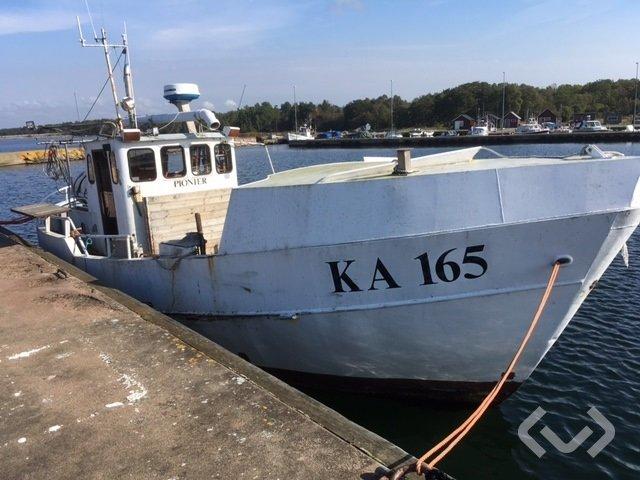 Grönhögens Varv Fiskebåt (Pionier KA 165) rep.objekt - 74