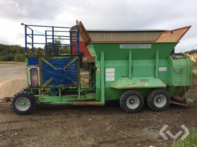 Budissa PM800 Push Bagger Kompostpackare - 10