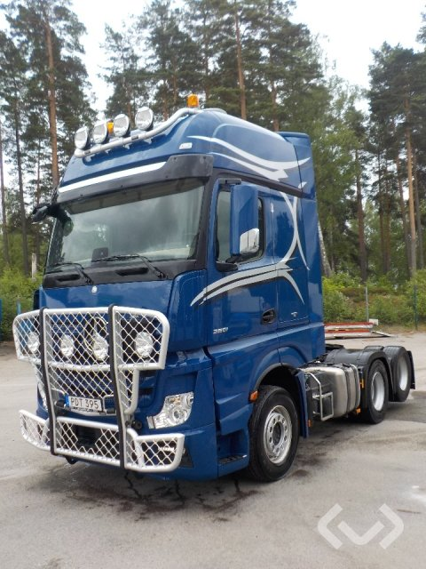Mercedes Benz Actros 2651 6x2 Dragbil - 16