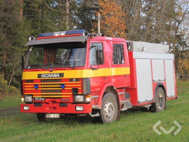 Scania P91 H AVKORTA 4x2 Brandfordon (släckbil) - 87
