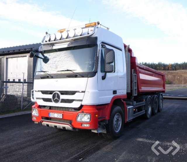 Mercedes 2651 8x2*6 Dumperbil - 12