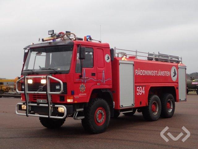 Volvo FL12 6x6 Brandfordon (släckbil) - 98