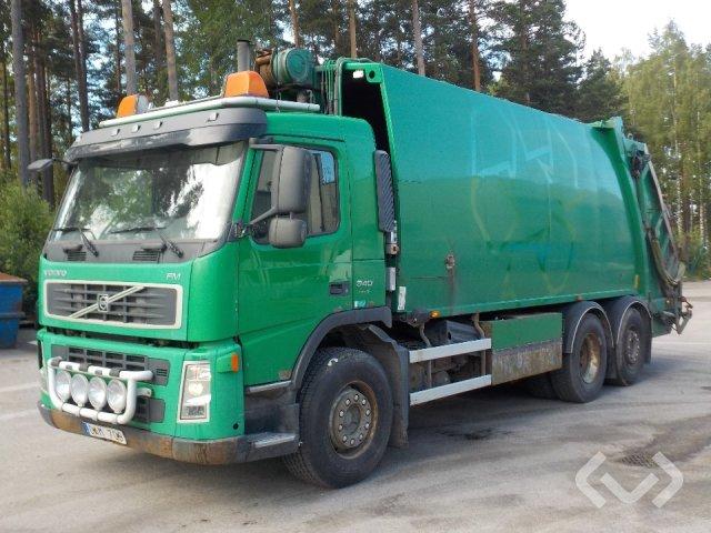 Volvo FM9 (Euro 5) 6x2 Sopbil (baklastare) - 06