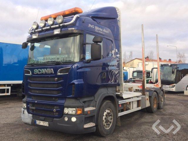 Scania R560LBHSA 6x2 Timmerbil - 12