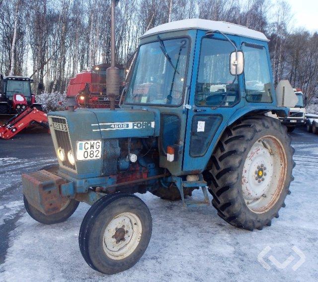 Ford 4600 Traktor - 79